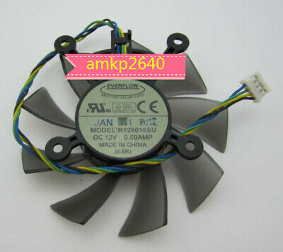 75mm ASUS GTX560 HD5830 HD6850 Fan Replac 4x43mm 4Pin R128015SU 12V M714 QL