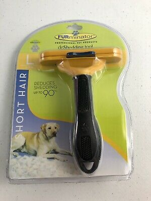 FURminator Dog Undercoat Deshedding Tool for Short Haired Large Dogs 51-90lbs