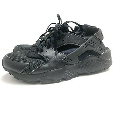 e024a118fbaca NIKE Huarache Run (GS) LTD Running Shoes Triple Black 654275-016 6.5 Youth