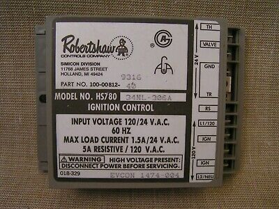 NOS Unused Robertshaw Model HS780 34NL-306A Furnace Ignition Control Module