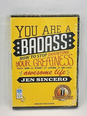 You Are a Badass How to Stop Doubting Your Greatness- Jen Sincero- NEW