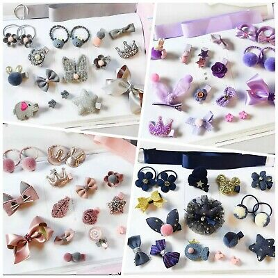 Beautiful 18pc sets of hair accessories for babies, toddlers, girls