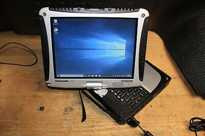 Panasonic Toughbook CF-19 MK8 8GB 960GB SSD Touch Backlit Keys 30 Hours