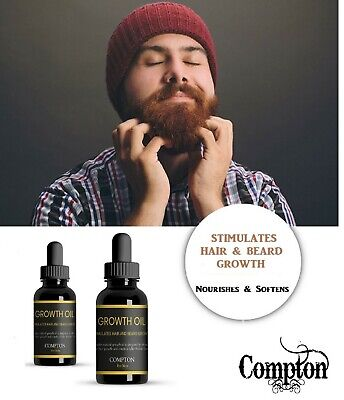 Beard Growth Oil / Hair Growth / 100 %  Natural - Growth & Shine 30 Ml