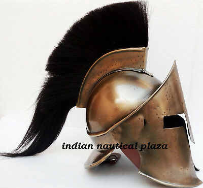 Medieval Roman Viking Armor Helmet~Greek Spartan Movie Helmet~Wearable Costume