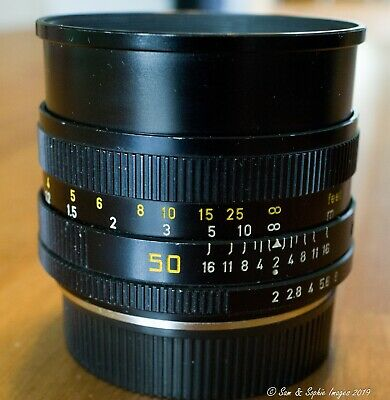 Leica Leitz Summicron R 50mm f2 Version II SN.2942687 Canada