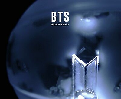 Bts Official Light Stick [Army Bomb Ver.3]  Photocard 7Ea, Tracking Num