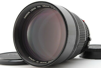 [Excellent++] Canon New FD 135mm f2 NFD MF Lens from JAPAN