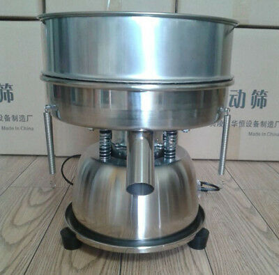 110V Electric Mechanical Sieve Shaker Vibrating Sieve Machine & Mesh Screen