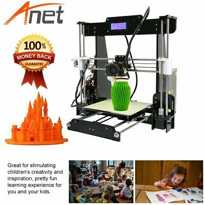 Anet A8 Precision Auto Level Reprap i3 3D Printer DIY Assembly Kits w//Gifts O3W5
