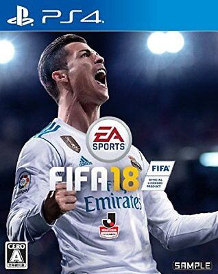 USED PS4 ​​FIFA 18 Japan