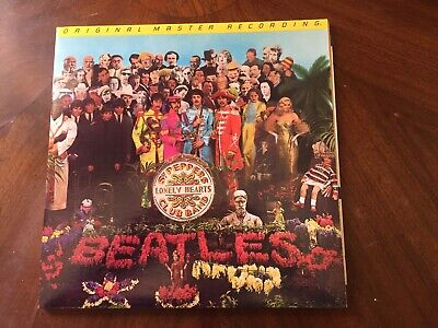 LP THE BEATLES - SGT PEPPERS LONELY HEARTS CLUB BAND  Original Master Recording