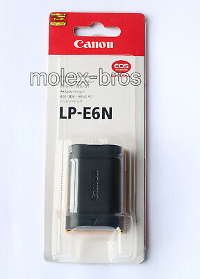 Canon LP-E6N New Original Battery For Canon EOS 5D2 5D3 6D 60D 70D 80D Mark II