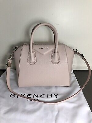 0be2441c82 Givenchy Antigona Small Pale Pink Bag Tote Authentic 100% Handbag Tasche New
