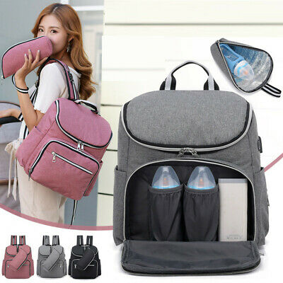 Mummy Maternity Nappy Diaper Bag Large Capacity Baby Bags Travel Women Backpack