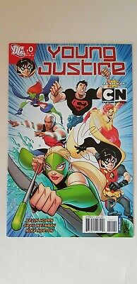 Young Justice Issue 0 Cartoon Network RARE LOW PRINT