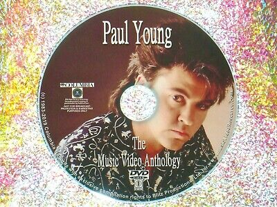 PAUL YOUNG The Music Video Anthology 1984-2017 DVD 28 Videos 2 Hours