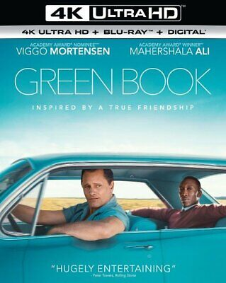 GREEN BOOK (4K Ultra HD + Blu-ray, with SLIPCOVER) Oscar's Best Picture 2018