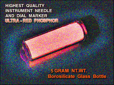 RED Strontium Aluminate Phosphor 5gms/Green 532nm Sensitive Phosphor-glass vial