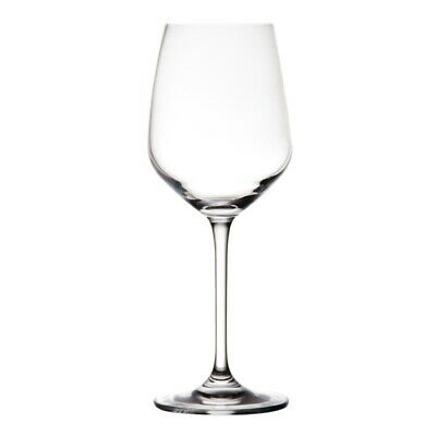 Olympia Chime Crystal Wine Glasses 620ml (Pack of 6) (Next working day to UK)