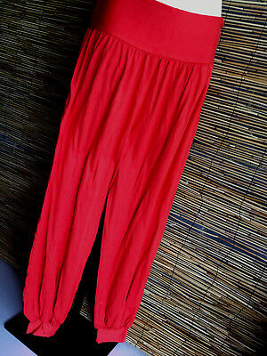 SPECIAL Lot of 4 spandex good quality full length genie pants.suit yoga,travel.