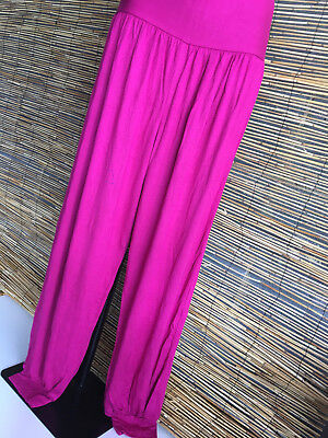 SPECIAL Lot of 4 spandex good quality full length genie pants.Fits many sizes.