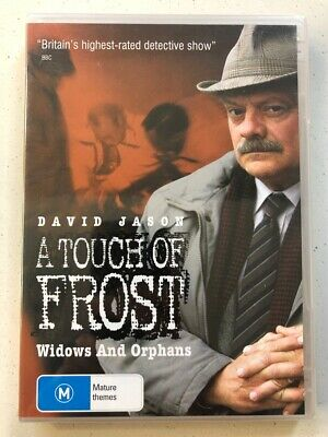 A Touch of Frost: Widows and Orphans - David Jason (DVD) Region 4- NEW & SEALED