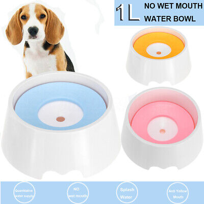 Puppy Pets Feeding Not Wet Mouth Bowl Non Splash Travel Water Animal Water