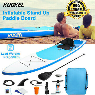 Stand Up Paddle Board Gonflable Planche de Paddle Board supérieure 320×76×15cm