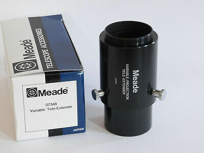MEADE #07348 Variable-Projection Tele-Extender for SCT, Made in Japan