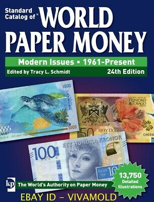KRAUSE 2018 Standard Catalog of World Paper Money 1961-Present, 24th Edition NEW