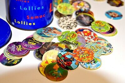 Tazos - collection of 112 in good condition