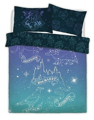 WARNER BROTHERS HARRY POTTER CELESTIAL MAGIC Duvet Cover Set with Pillowcases