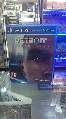 Jeu Detroit Become Human PROMO DISK PS4 PAL