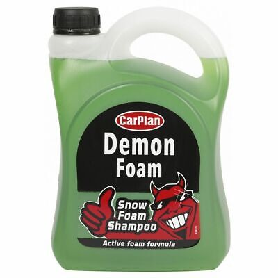 Car Plan Wash Snow Foam Shampoo 2 Litre [CDW201] Demon Shine Active Foam