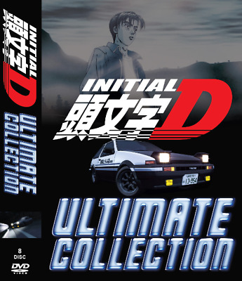 DVD - Initial D Ultimate Collection Stage 1 - 6 + Battle Stage + Extra Stage