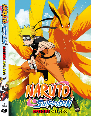 NARUTO SHIPPUDEN SEASON 4 (Episode 541-620) English Dub