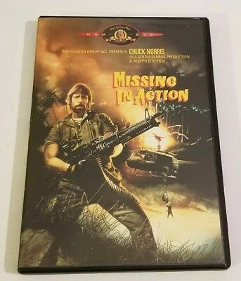 Missing In Action Dvd Chuck Norris