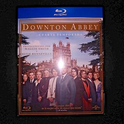 Blu Ray Downton Abbey Temporada 4 PRECINTADA