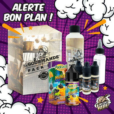 e liquide Mango Blackcurrant Pack diy complet  230 ml - 3,6,9,12 mg -Pack à l'Ô