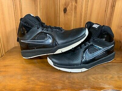 outlet store 8f56b fb13a Nike Team Hustle D6 Youth Boys Basketball Shoes Size 7Y 599187-001 Black