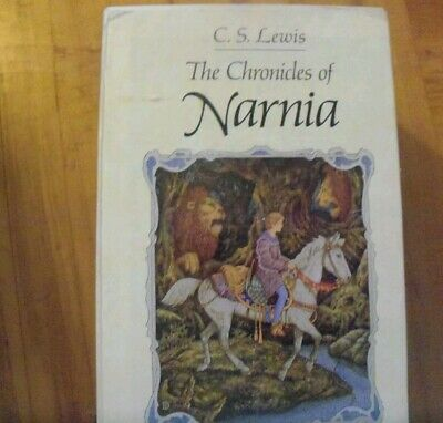 The Chronicles of Narnia 7 Volume   BOX SET by C.S. Lewis Collier-- good