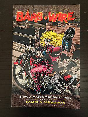 Barb Wire - Titan Books Graphic Novel - First Edition