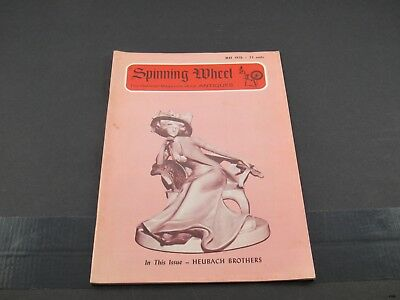 May 1970 SPINNING WHEEL Antiques Magazine : Heubach, Thuringen Toys ++