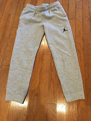 7ce2470721e4 BOYS YOUTH SIZE Large Jordan Fleece Joggers Basketball Pants -  5.50 ...