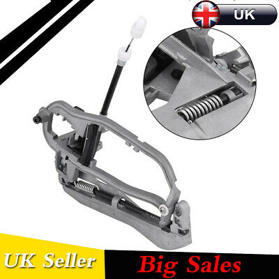 Zinc Alloy Outside Front Left Door Handle Carrier Bracket For BMW E53 X5 2000-06