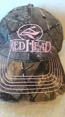 c33d7768a41 Red Head Hat Cap Logo Women s Camouflage   Pink Bass Pro Shops Gone Hunting