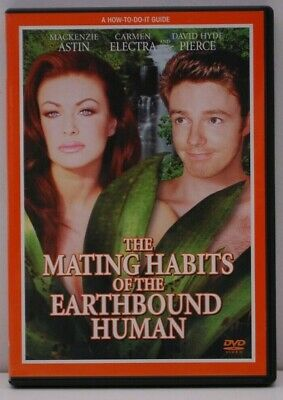 The Mating Habits Of The Earthbound Human (1999) us region 1 DVD Carmen Electra