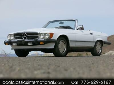 1988 500-Series SL White Mercedes-Benz 560 with 46,978 Miles available now!