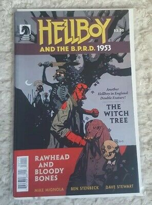 Hellboy And The BPRD 1953: Witch Tree/ Rawhead Bloody Bones (Dark Horse Comics)